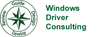 Windows Driver Consulting